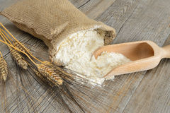 Sack of flour Stock Photos
