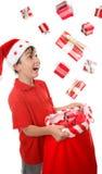 Sack full of presents Stock Photo