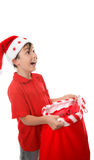Sack full of presents Royalty Free Stock Photo