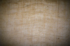 Sack material background vignette. Style Stock Images