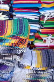 Sack of Mexican blankets Stock Photo