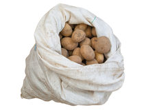 Sack of potato Stock Photos