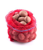 Sack of potatoes Stock Images