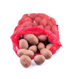 Sack of potatoes Stock Photos