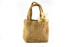 Sack-Tasche mit Isolat Lizenzfreie Stockbilder