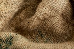 Sack Texture Background Brown, Woven Stock Photography