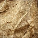 Sack texture background Stock Images