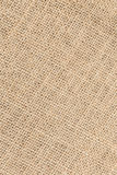 Sack textured brown canvas fabric as background Royalty Free Stock Photography