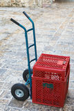Sack truck Royalty Free Stock Photography
