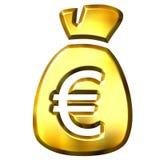 Sack voll Euro lizenzfreie abbildung