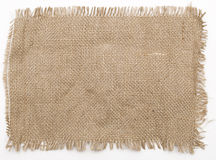 Sackcloth stock photo