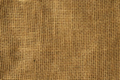 Sackcloth background Stock Photos