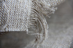Sackcloth background. I made at home Royalty Free Stock Image