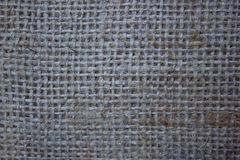 Sackcloth brown background. Natural material decorative texture Royalty Free Stock Image