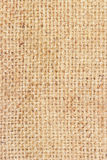 Sackcloth brown textured background Royalty Free Stock Photo