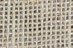 Sackcloth. An close-up image of sackcloth material stock image