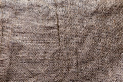Sackcloth. Dark sackcloth for background or texture stock image
