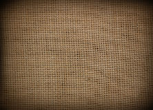 Sackcloth fabric background Stock Image