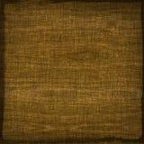 Sackcloth linen fabric textile brown beige texture background Stock Images
