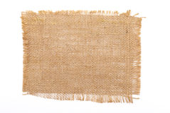 Sackcloth material Stock Photography