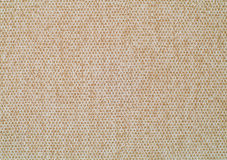 Sackcloth material. Beige office sackcloth material texture Stock Photography