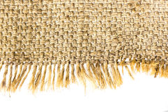 Sackcloth material Stock Photos