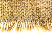 Sackcloth material Royalty Free Stock Photo