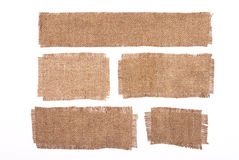 Sackcloth Materials Royalty Free Stock Photography