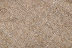 Sackcloth textile background Royalty Free Stock Image