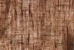 Sackcloth textile background Royalty Free Stock Photos