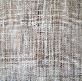 Sackcloth texture as background Royalty Free Stock Images