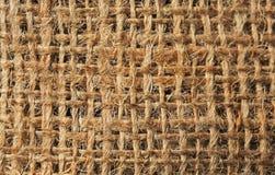 Sackcloth texture as background stock photo