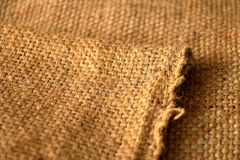 Sackcloth texture for background Royalty Free Stock Images