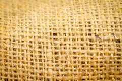 Sackcloth texture background Stock Image