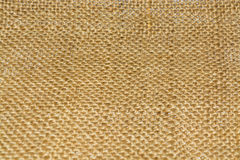 Sackcloth texture for background. Brown textured linen fabric, texture or background Royalty Free Stock Photo