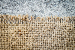 Sackcloth texture Royalty Free Stock Image