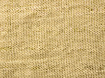 Sackcloth texture background Stock Images