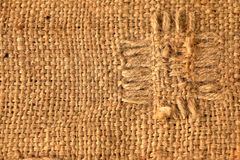 Sackcloth texture Stock Photo