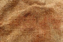 Sackcloth texture surface background. Stock Images