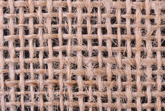 Sackcloth texture Stock Photography