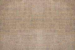 Sackcloth textured background Stock Image