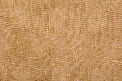 Sackcloth textured background Royalty Free Stock Photos