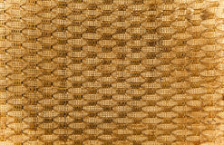 Sackcloth textured background braun and yelow Stock Photography
