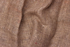 Sackcloth textured background brown. Texture Royalty Free Stock Image
