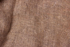 Sackcloth textured background brown. Texture Stock Photo