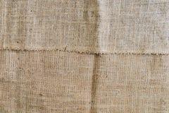Sackcloth textured background Royalty Free Stock Photo