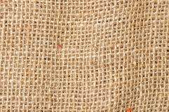 Sackcloth textured Royalty Free Stock Images