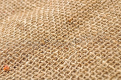 Sackcloth textured Royalty Free Stock Image
