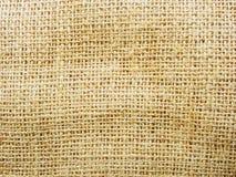 Sackcloth texturerar arkivbild