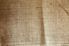 Sackcloth woven texture pattern background Royalty Free Stock Photography